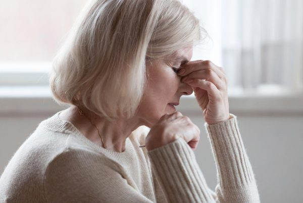 woman struggling with chronic fatigue syndrome