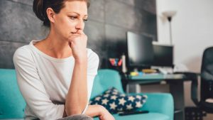woman suffering from polycystic ovary syndrome